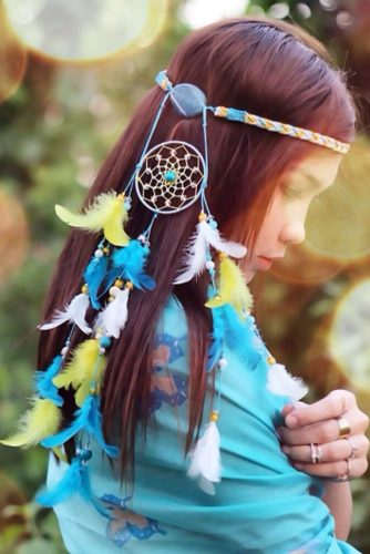 21 Impression Looks With Dreamcatcher Headband