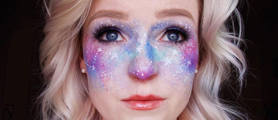 21 Galaxy Makeup Looks Creative Makeup Ideas For