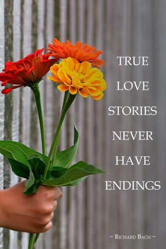 True love stories never have endings. #love #relationship
