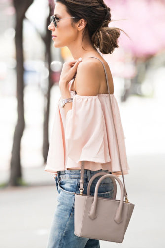 Sexy Shoulder Tops Outfit Ideas picture 2