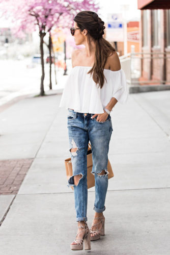 Stylish Outfit Ideas with Shoulder Tops picture 5