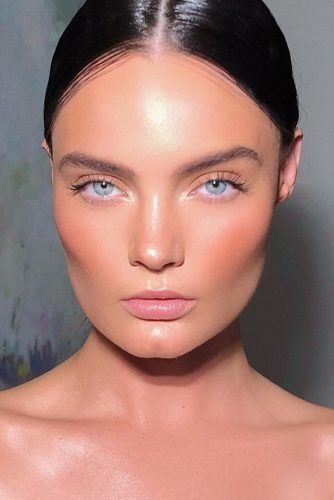 No Makeup Makeup Look #blush #lipgloss
