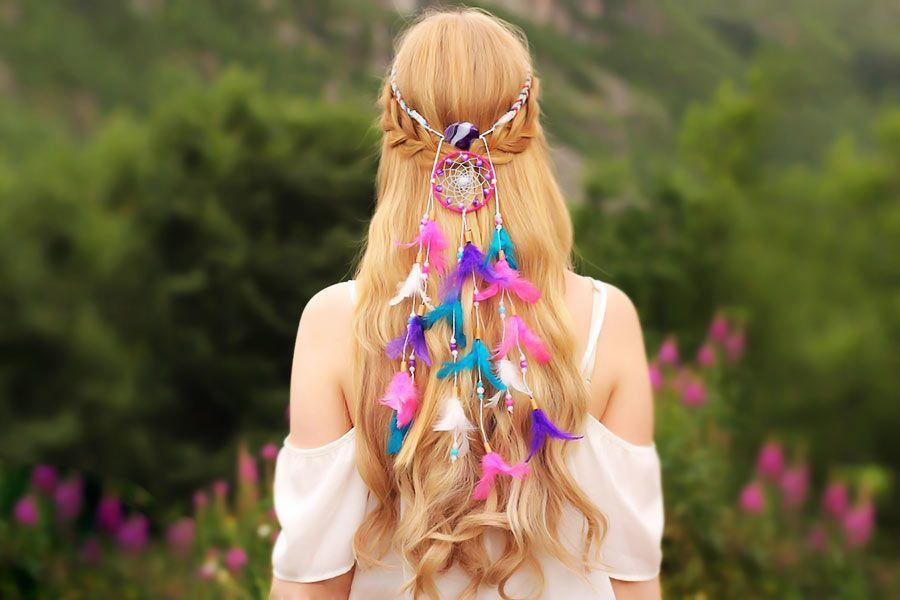 Impression Looks With Dreamcatcher Headband
