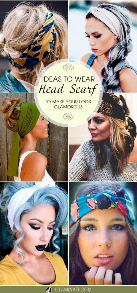 Ideas How to Wear Your Head Scarf to Make Your Look Glamorous