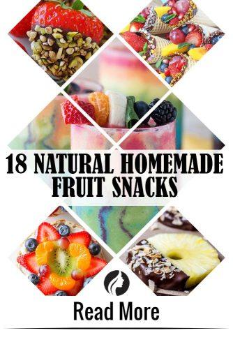 18 Natural Homemade Fruit Snacks for a Bikini Body