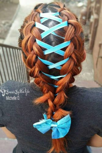 15 Amazing Braid Hairstyles with Corset Braid Hair