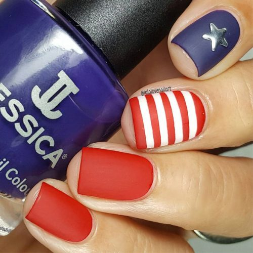 Pretty Nail Designs for Labor Day picture 3