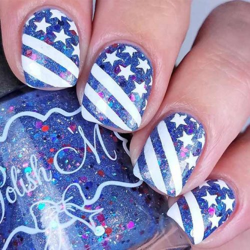 Pretty Nail Designs for Labor Day picture 1