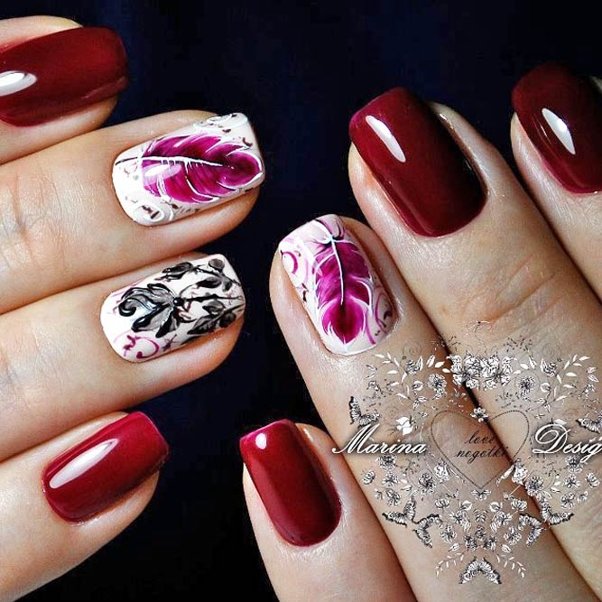 Beautiful Fall Manicure Ideas picture 2