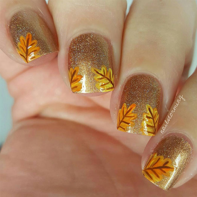 Cute Nails Designs to Try This Fall picture 6