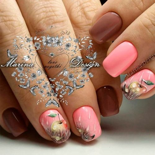 Autumn Nail Art Designs 2017