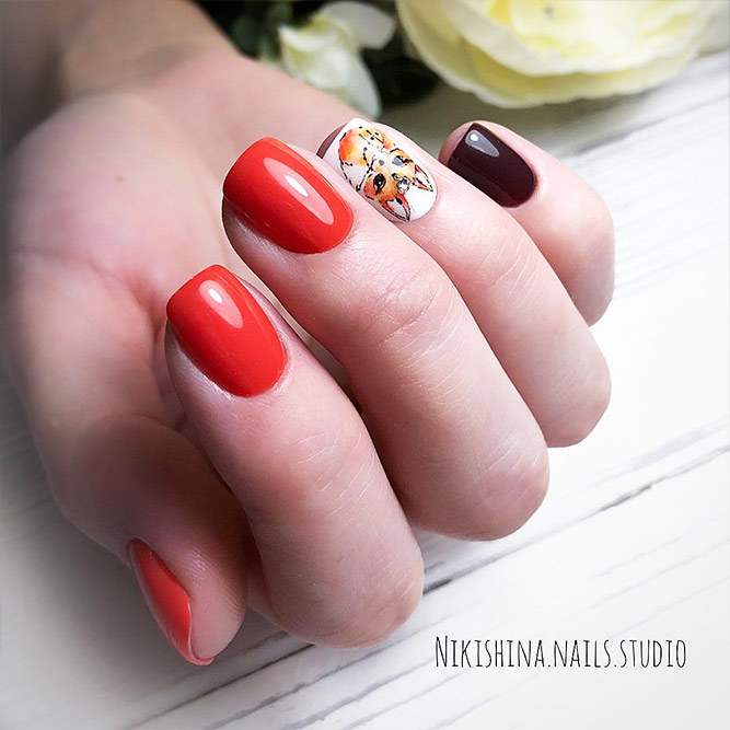 Cute Fall Nail Designs Picture 4