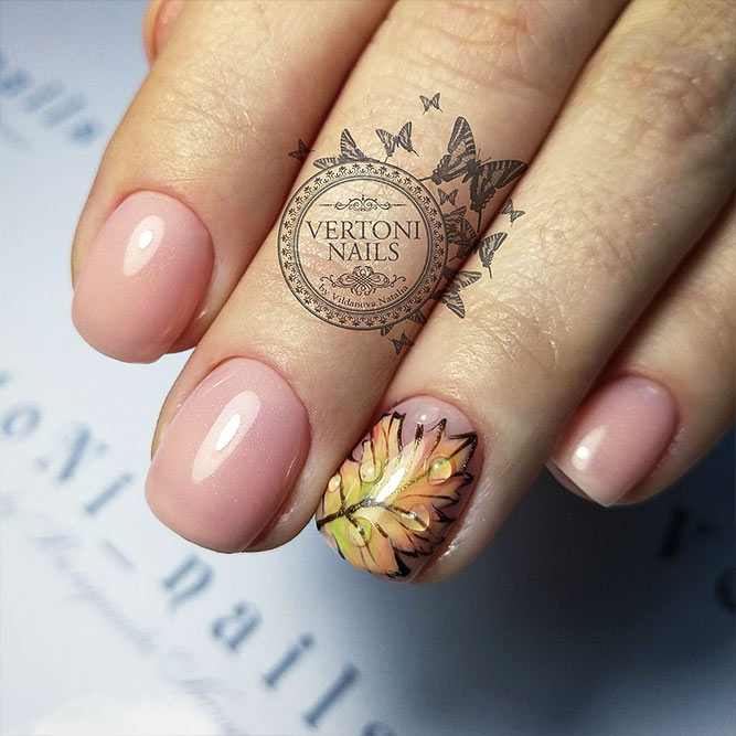 Beautiful Fall Manicure Ideas Picture 1