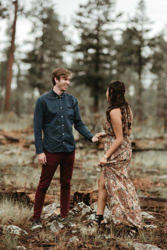 21 Touching True Love Photos Taken in the Forest