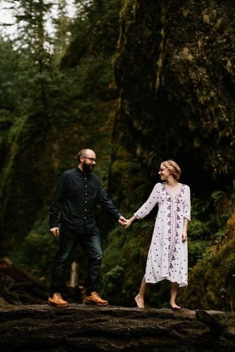 Romantic Couples In The Wild Nature picture 1