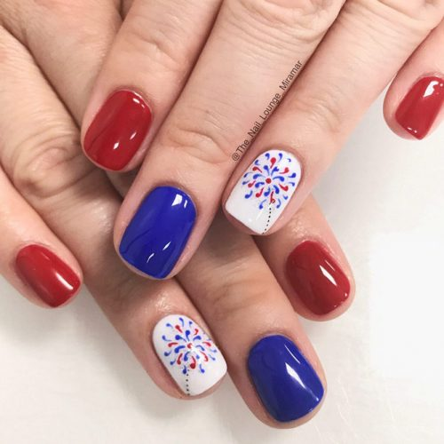 Summer Nail Designs in Patriotic Style picture 6