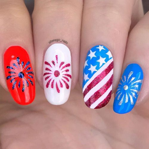 Summer Nail Designs in Patriotic Style picture 4