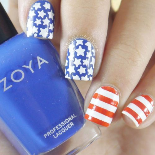 Summer Nail Designs in Patriotic Style picture 5