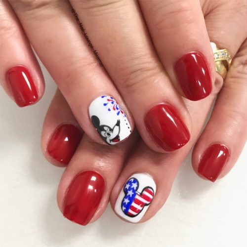 Fun Nail Designs for Perfect Labor Day Look picture 2