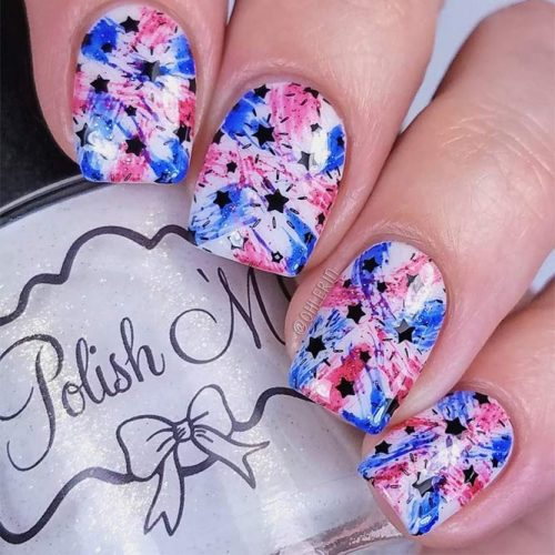 Summer Nail Designs in Patriotic Style picture 2