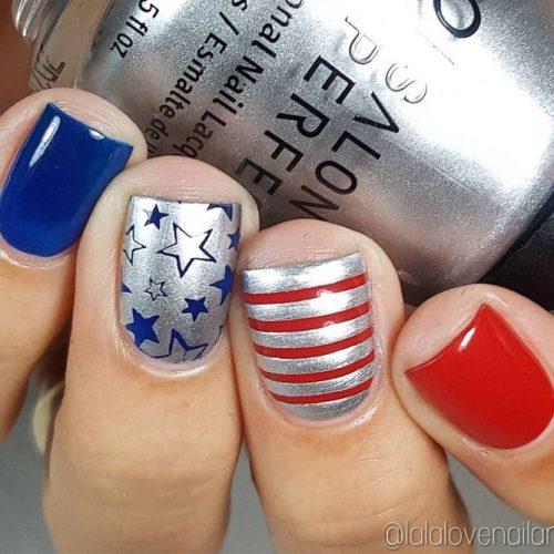 Pretty Nail Designs for Labor Day picture 2