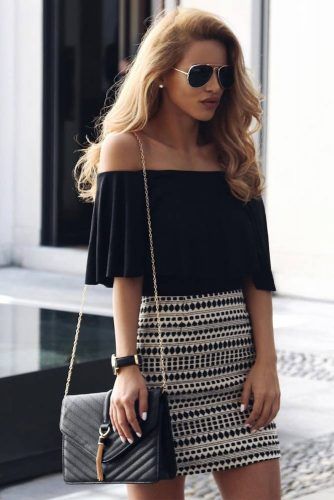 Stylish Outfit Ideas with Shoulder Tops picture 1