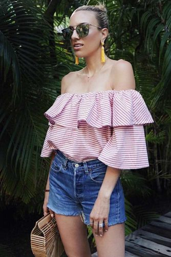 Beautiful Off the Shoulder Top Ideas picture 5