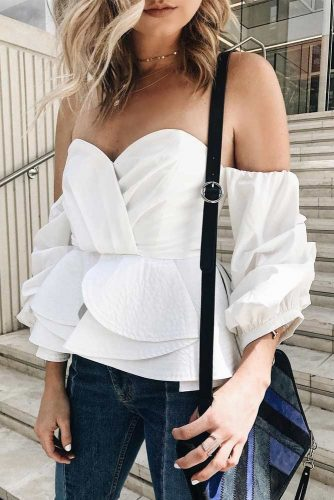 30 Off The Shoulder Tops That Show A Sexy Bit Of Skin