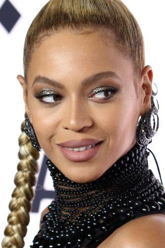 Sparkly & Glam Smokey Eyes #beyonce #mattelips