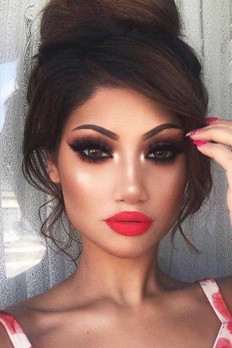 Cute Smokey Eye Makeup Ideas picture 1