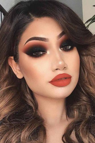 Newest Smokey Eyes Makeup Ideas picture 1