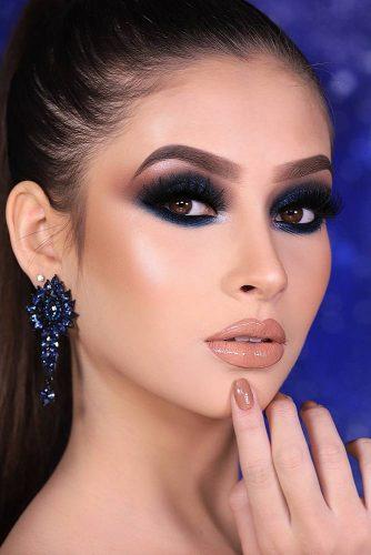 Deep Blue Smokey Eyes #blueshadow #deepblueshadow