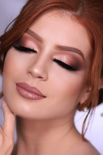 Peach Smokey Eyes Makeup #peachsmokey #mattesmokey