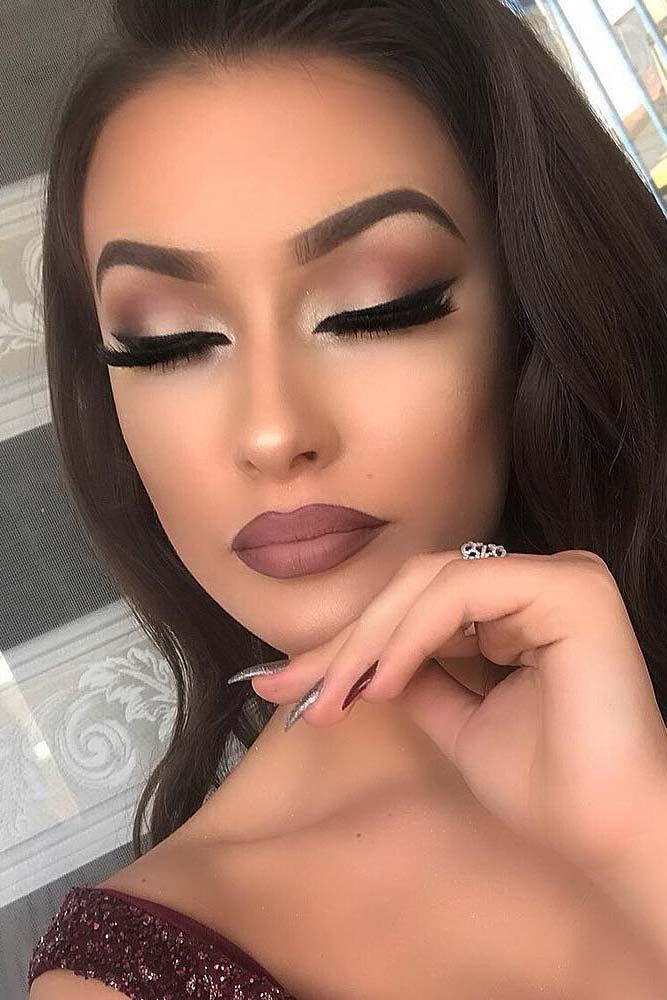 Soft Smokey Eyes Makeup #matteshadow #eyeliner