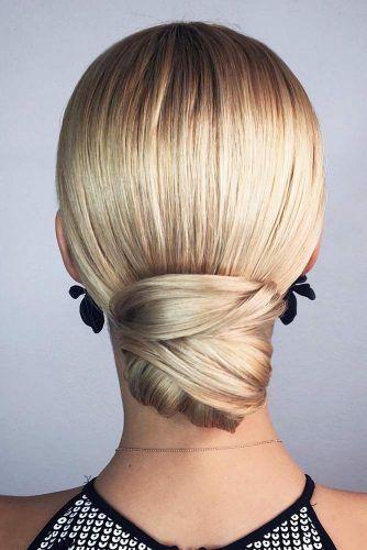 Sleek Knot #longhair #updo #bun