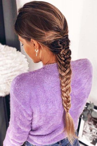 Simple Braid #longhair #braids