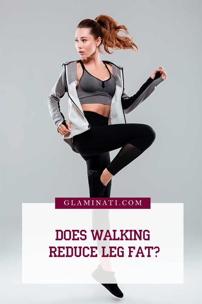 Does Walking Reduce Leg Fat? #healthytips #beautytips