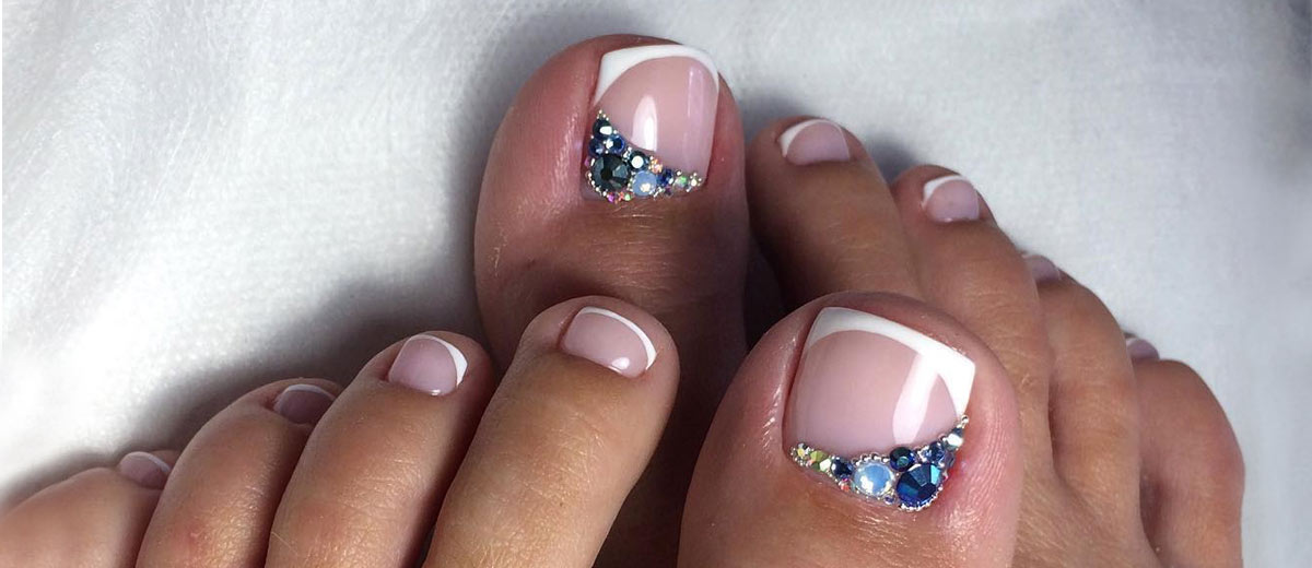 toe nails designs