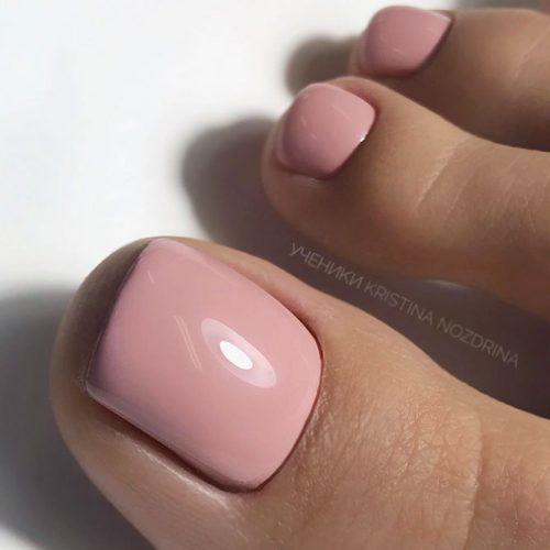 Pure Nude Nails #nudenails #simplenails