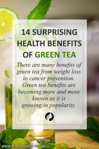 14 Surprising Health Benefits of Green Tea