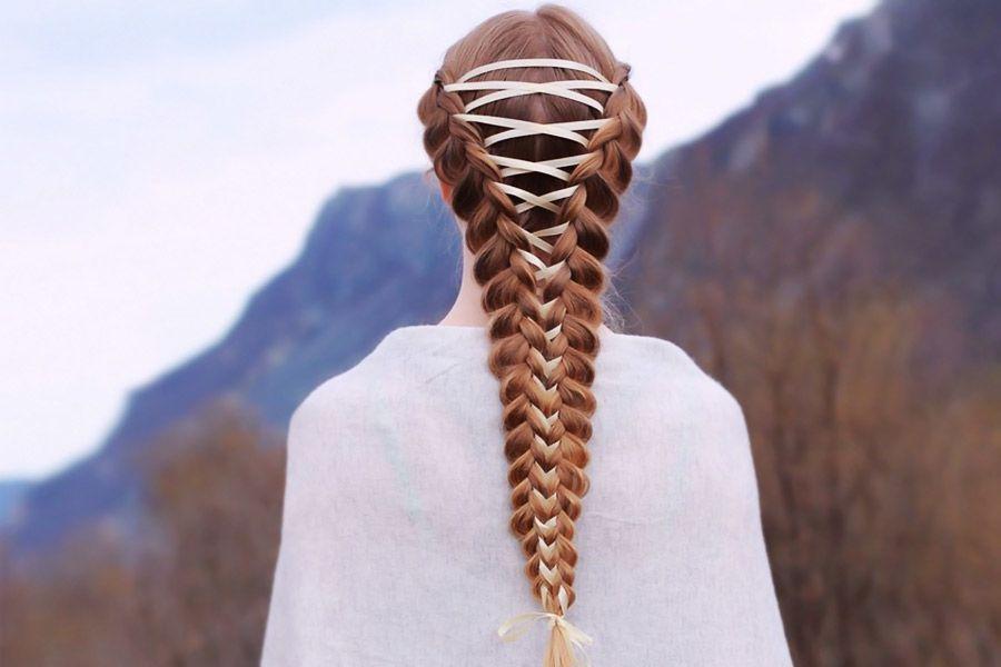 Amazing Braid Hairstyles with Corset Braid Hair