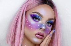 Galaxy Makeup Looks - Creative Makeup Ideas For Extraordinary Girls