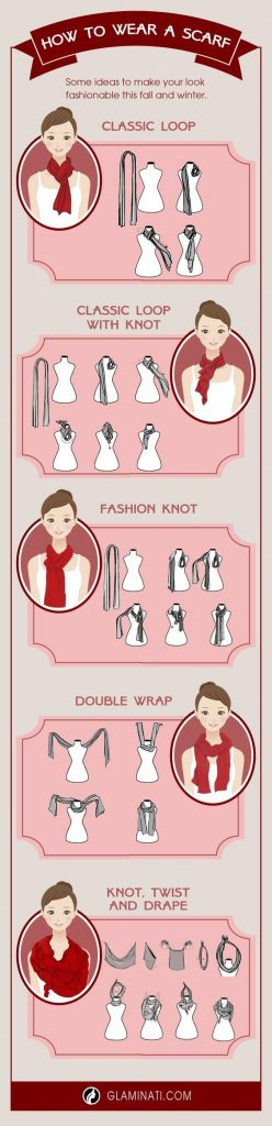 Ideas How to Wear a Scarf