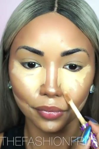 Darker concealer can do miracles
