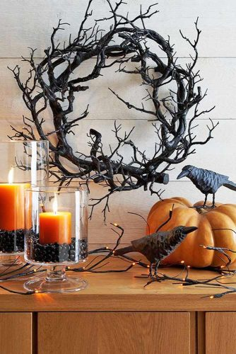 18 scary indoor and outdoor halloween decorations that you Scary halloween decorating ideas inside
