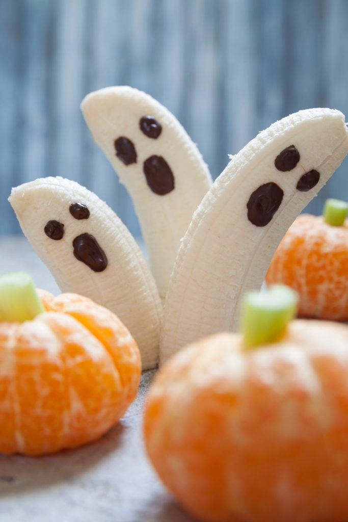 Halloween Banana Monsters