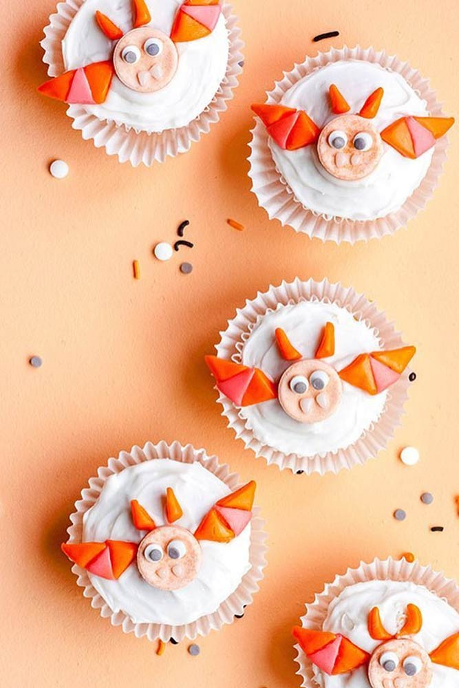 Bat Halloween Cupcakes Ideas #batscupcake