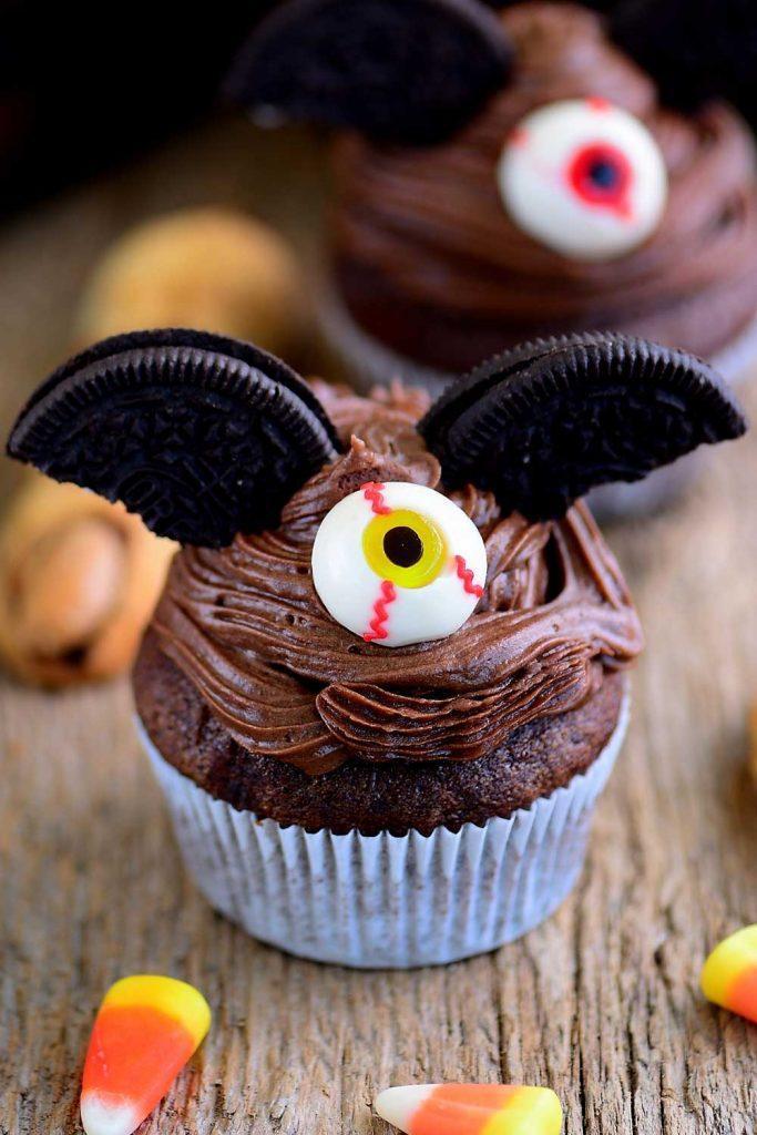 Cute Cupkaces for Halloween