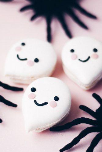 Funny Ghost Halloween Cookies #ghost #ghostcookies