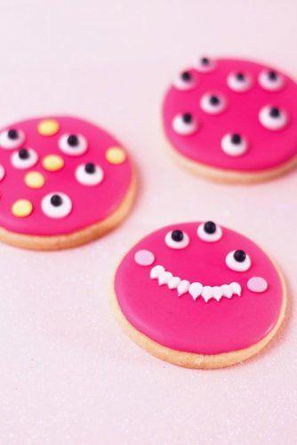 Eyeballs Monster Cookies #monstercookies
